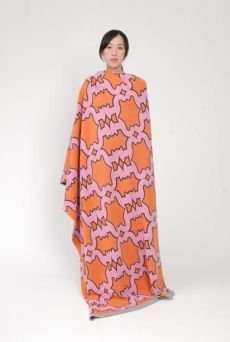 AW15 VANITY CATS LARGE BLANKET